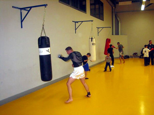 The boxing gym 1